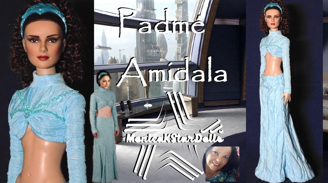Monica K Star Dolls Padme Amidala Episode Iii Revenge Of The Sith