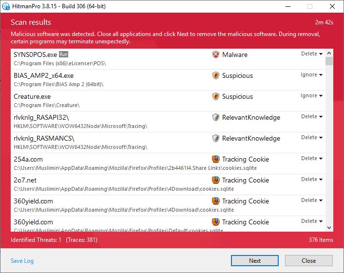 HitmanPro v3.8.15 Build 306 Full version