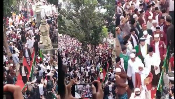 Acara Abuya Uci Dipadati Ribuan Jamaah, Dijaga Ketat Aparat