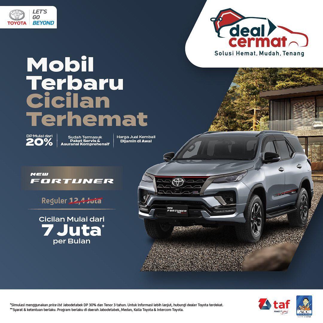 Promo New Fortuner Toyota Pasar Kemis
