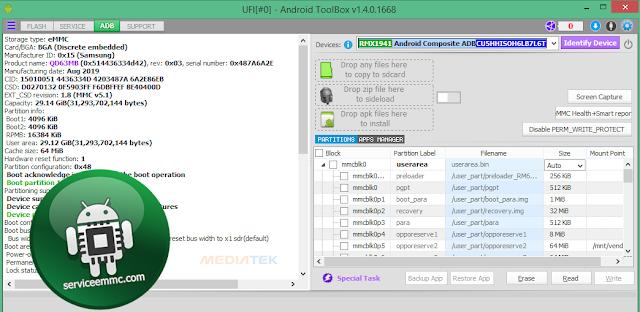 Support IC eMMC/eMCP+File Dump Oppo Realme C2 RMX1941