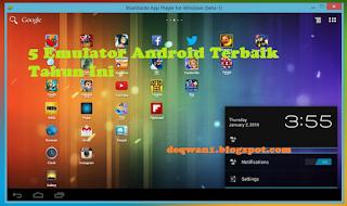 emulator android terbaik tahun ini