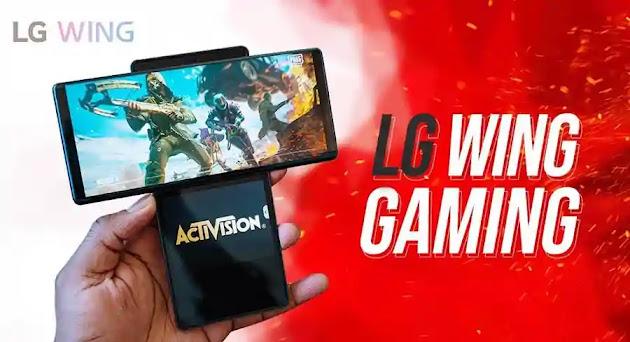 تجربة LG Wing 5G للألعاب