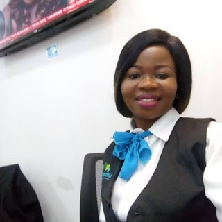 """""""I like working with numbers and learning Excel during the training makes my work easier""""- Alumna, Amuche Okereke,"""