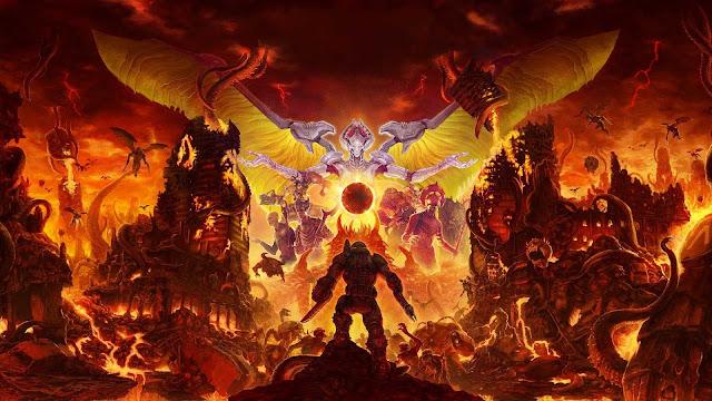 doom eternal wallpaper