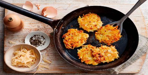 What is the main ingredient in hash browns?