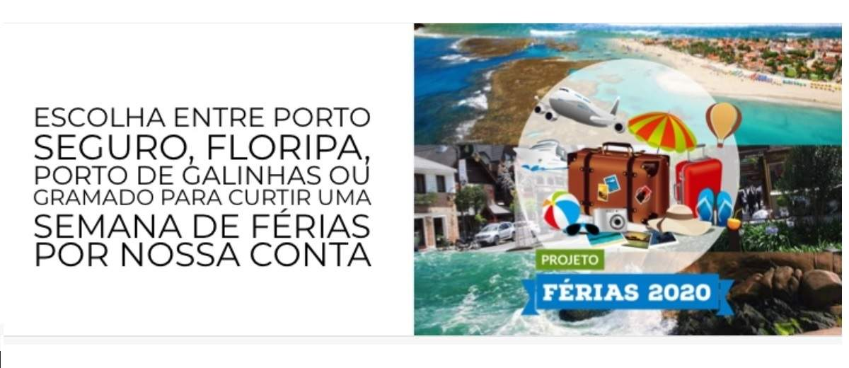 Cadastrar Promoção Dumont Férias 2020 Viagem Grátis Porto Seguro ou Gramado