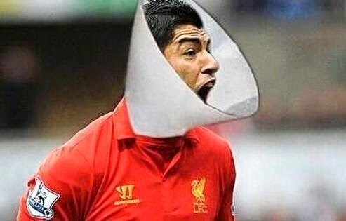 Funny Worldcup 2014 Suarez Dog Neck Bite Guard