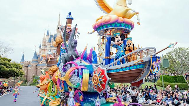 Tokyo Disneyland and Disney Sea