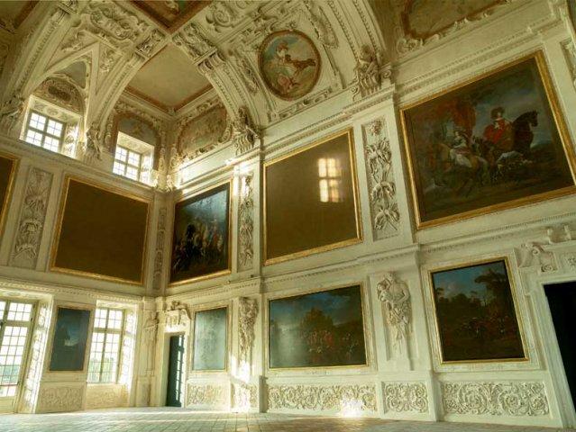 Enciclopedia delle amazzoni La sala di Diana della reggia