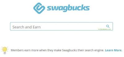 SwagBucks, wyszkukiwarka.