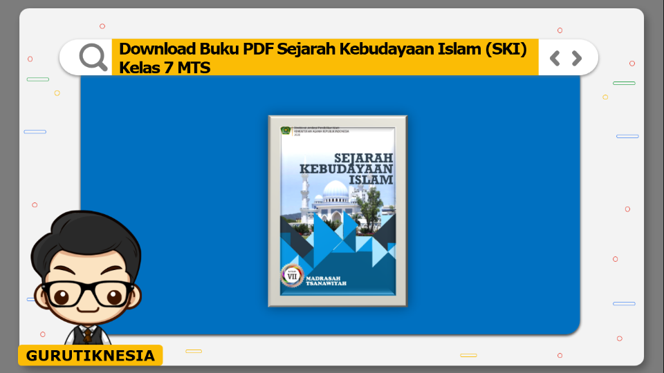 download buku pdf sejarah kebudayaan islam ski kelas 7 mts