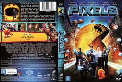 Filme Pixels DVD Capa