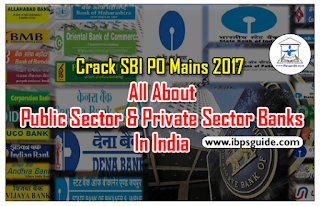 Static GK Awareness – All About Public Sector& Private Sector Banks in India: Crack SBI PO Mains 2017: (Day-2)
