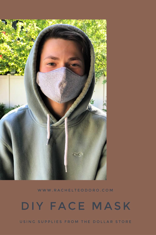 dollar tree supplies to make diy face masks