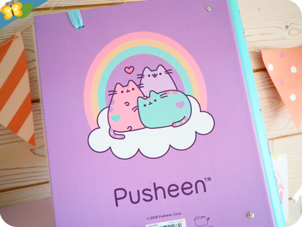 Classeur Pusheen