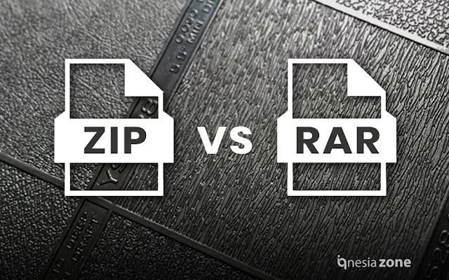 ZIP dan RAR: Inilah Perbedaan Serta Fungsinya   IQ Nesia Zone