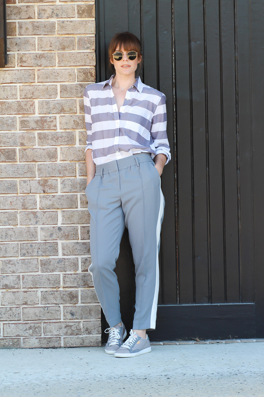 Summer stripe outfits