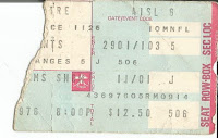 CHMusings:Andy Williams concert ticket