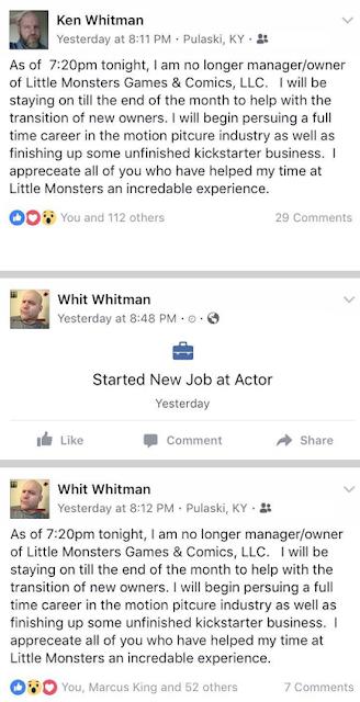 """2018.04.17 Ken """"Whit"""" Whitman is on the Run!"""