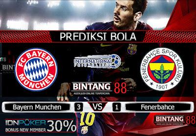 Prediksi Skor Bayern Munchen vs Fenerbahce 31 Juli 2019