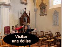Visite d'une église avec les enfants du caté