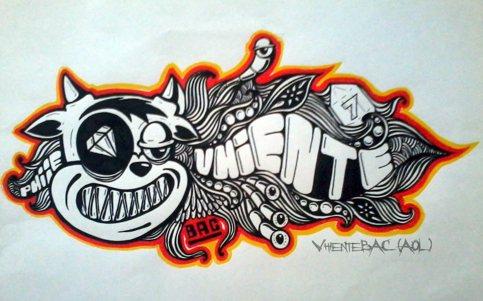 Kumpulan Gambar Grafiti 3d Rungon K