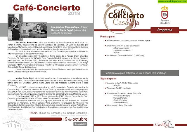 Café Concierto 19-10-19 en el Museo Casa Roja