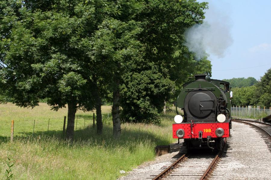 Havenstreet Railways 1940's weekend 2013  Loco