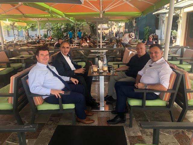 """Η """"ομάδα κρούσης"""" της Αργολίδας με τον Γ.Γ. του Υπουργείου Πολιτισμού Γιώργο Διδασκάλου"""