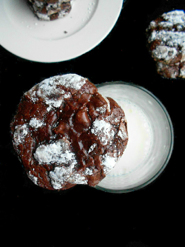Gluten Free Chocolate Fudge Crinkles Confessions Of A