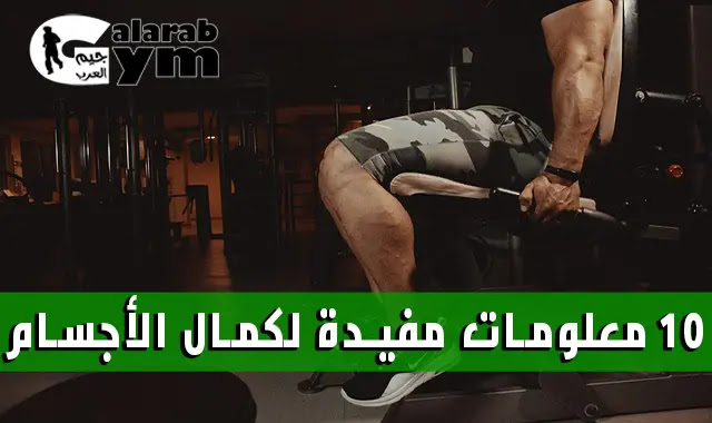10 معلومات مفيدة لكمال اجسام