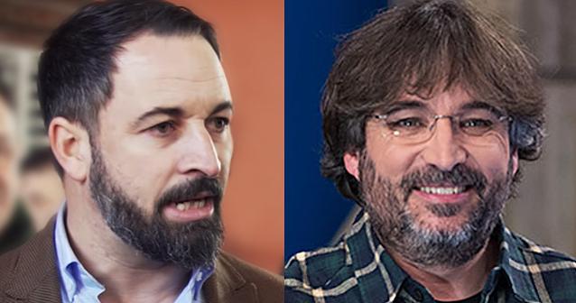 Jordi Évole y Santiago Abascal