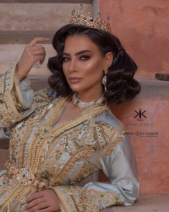 335f5feae35 Vente Caftan Pas Cher 2019 - Robe Marocaine Mariage - Caftan ...