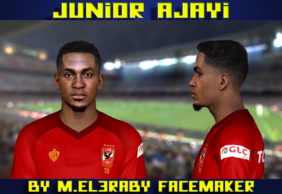 PES 2017 Junior Ajayi Face by M.Elaraby Facemaker
