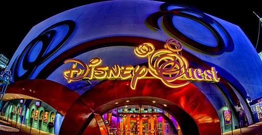 Jogos, games e fliperamas no Disney Quest em Orlando