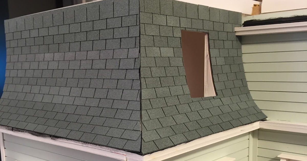 Dollhouse Roof Shingles The Kinfeld