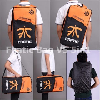 Gaming Bag - Tas Gaming Barracuda V5 5in1 - Fnatic