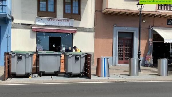 """Tony Acosta: """"El Ayuntamiento ha hecho una chapuza con los contenedores en la Avenida para tapar la incompetencia del Cabildo"""""""