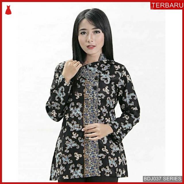 BDJ37B48 Blouse Batik 0053 Terbaru BMGShop