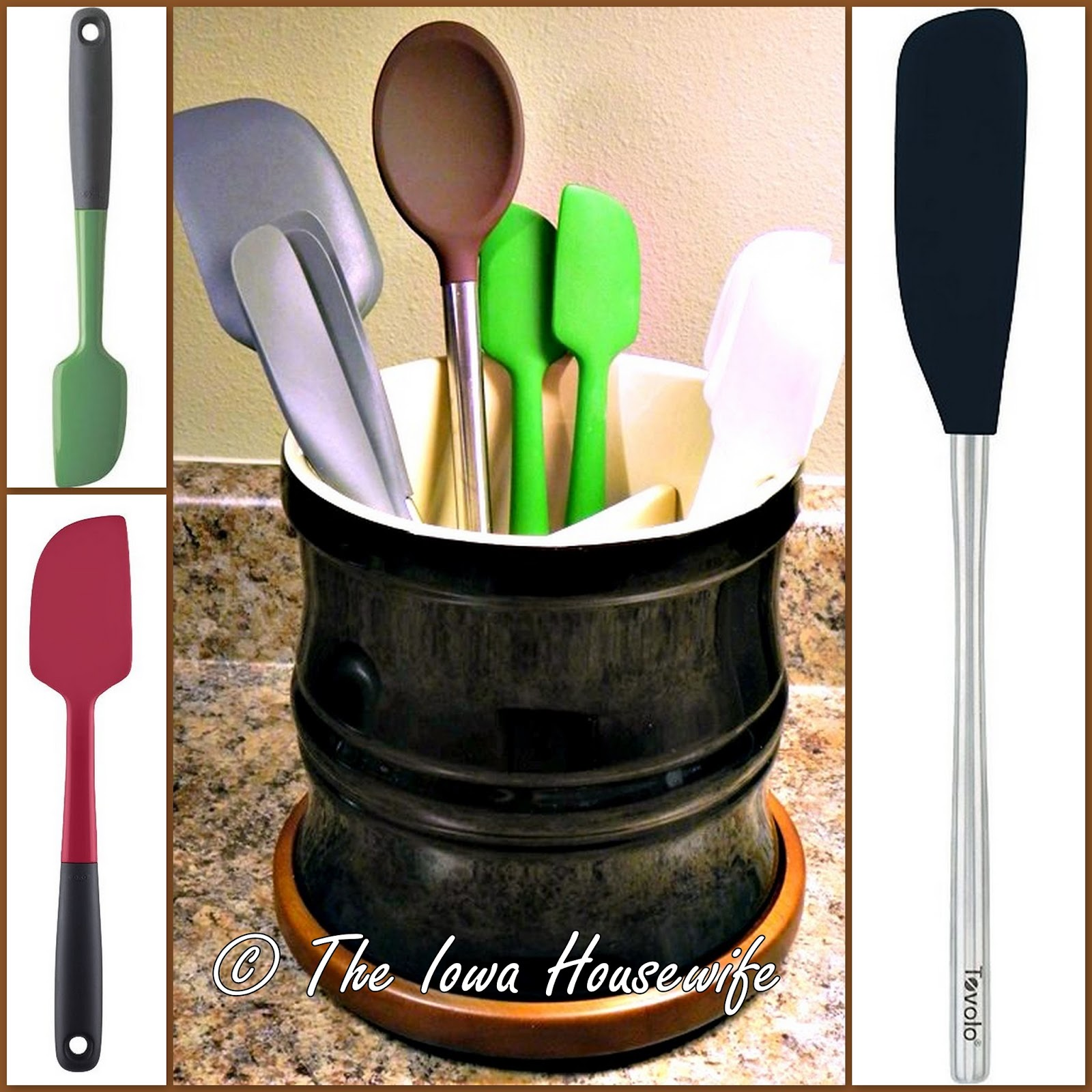 The Iowa Housewife: In the Kitchen...Scrapers, Spatulas ...