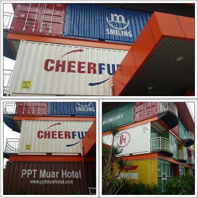 Hotel Unik dan Pelik di Malaysia|Hotel Kontena Muar Johor | Container Hotel Muar Johor