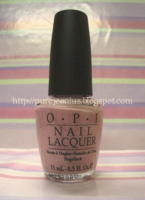 OPI in Suzi & The Lifeguard | pure Jeanius