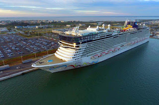 Norwegian Epic at Port Canaveral, Florida, Norwegian Cruise Lines