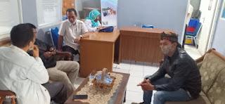 IWO PD Sukabumi pertanyakan perihal kompensasi Covid 19 untuk Insan pers ke DINSOS kabupaten Sukabumi