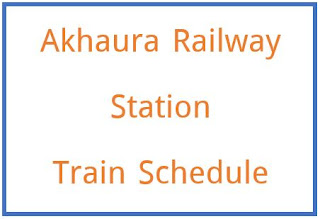 Train Schedule from Akhaura Railway Station