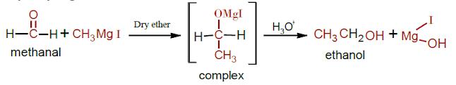Alcohol preparation by Grignard reagents - Chemeasylearn