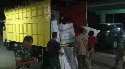 TNI Kodim 1415 Kep. Selayar Terus Buka Posko, Bantuan Kemanuasiaan Bencana Sulteng