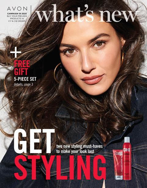Click On Image To Learn About Avon What's New Campaign 19 2020