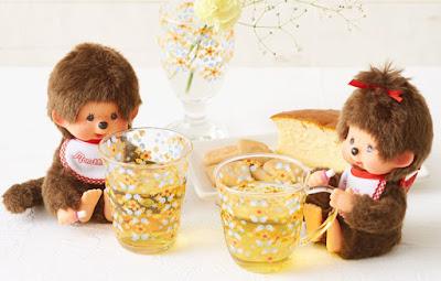 kiki Monchhichi verre vaisselle tasse pichet cup glass Sekiguchi new nouveau